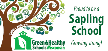 Sapling School Badge